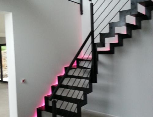 Escalier Métal Intérieur Crémaillère