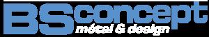 BS concept – spécialiste du travail du métal et des structures metalliques Logo