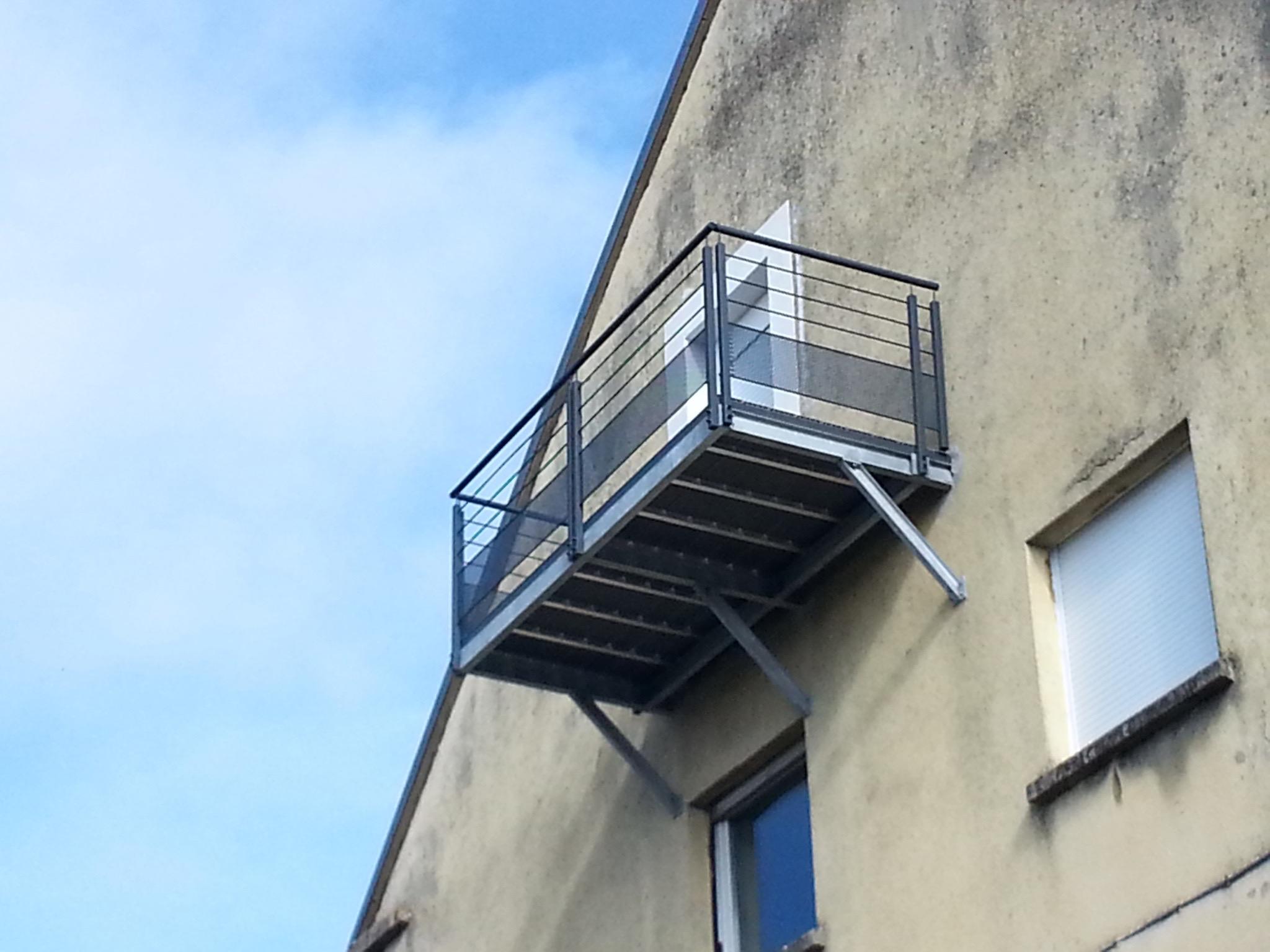 Terrasse Balcon Metal Bs Concept Specialiste Du Travail Du Metal Et Des Structures Metalliques